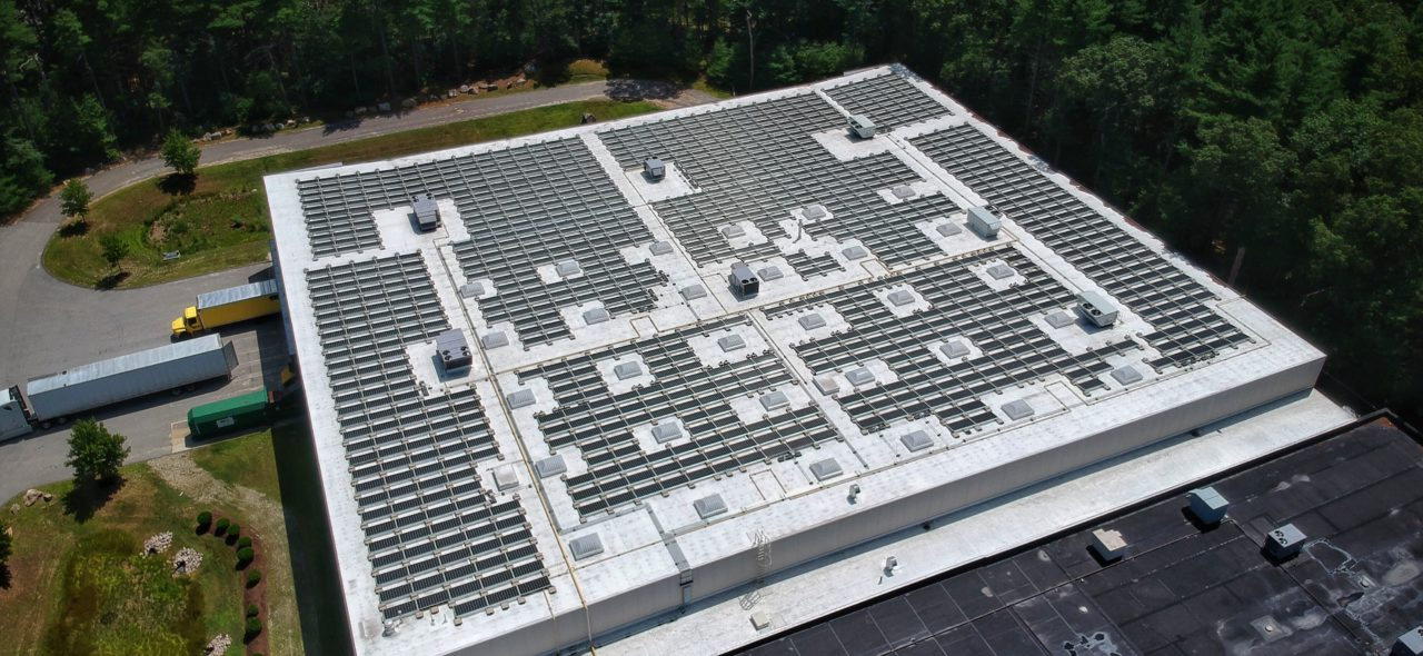 Solar Panels at Airxchange Facility