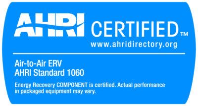 AHRI certification 1060