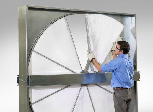 Airxchange's Segmented wheel